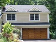 Residential Wood Garage Doors